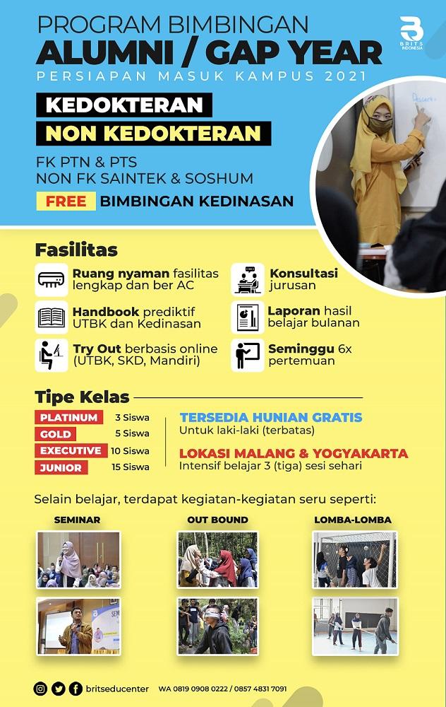 program ALUMNI gapyear brits indonesia yogya malang